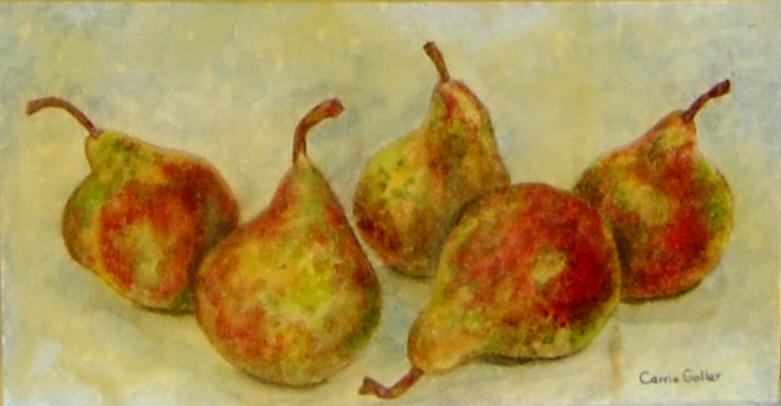 5 Yellow Pears