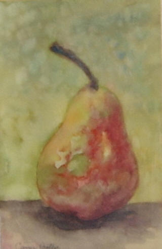Autumn Pear I