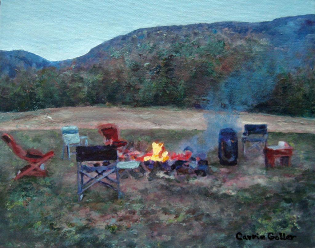 Talcott Ranch Campfire