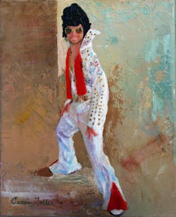 • Gary as Elvis