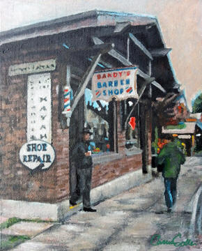 Sandy's Barber Shop
