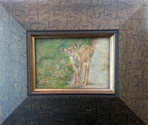Camouflage II (framed)