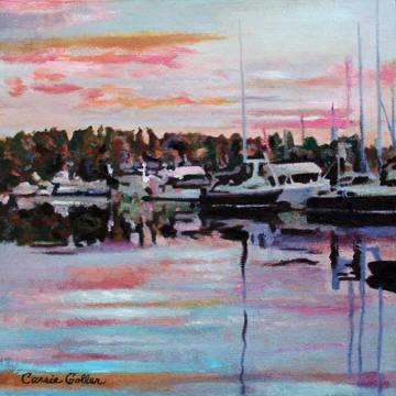 Sunset Friday Harbor
