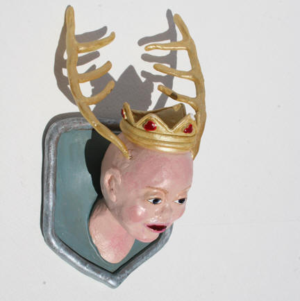 Baby King Ming, polymer clay 6h x 3.25w (Cooper collection)